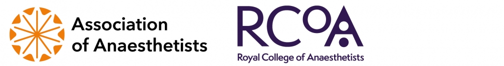 Association of Anaesthetists and RCoA logo