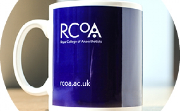 RCoA branded Cambridge mug