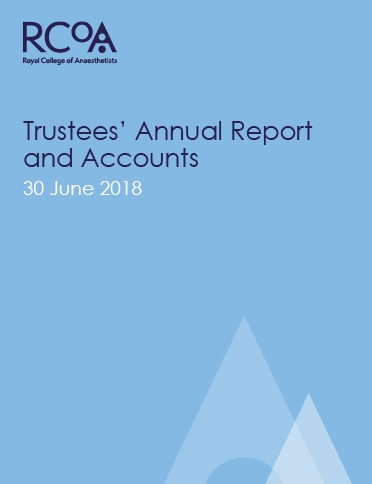 Trustees' Annual Report and Accounts 2018 - cover