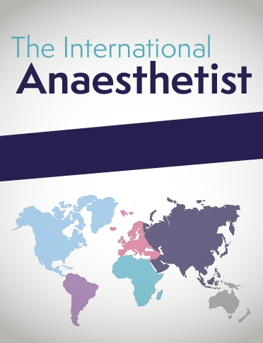 International Anaesthetist cover - portrait