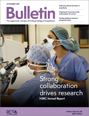 November Bulletin 2019 cover - portrait