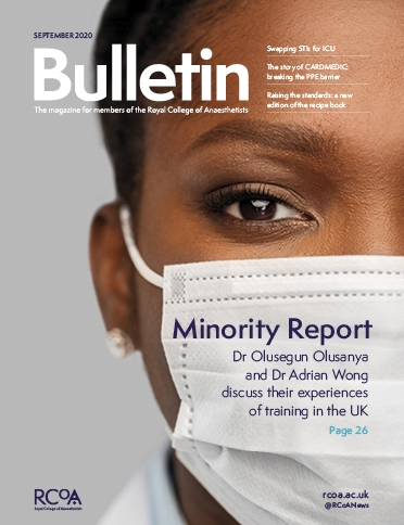Bulletin 123, September 2020 front cover
