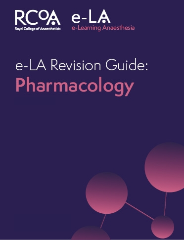 Pharmacology e-LA revision Guide front cover